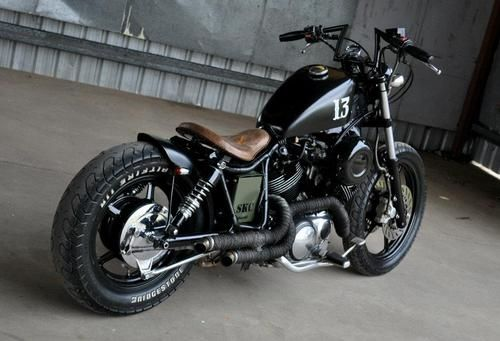 Yamaha Virago bobber... love this