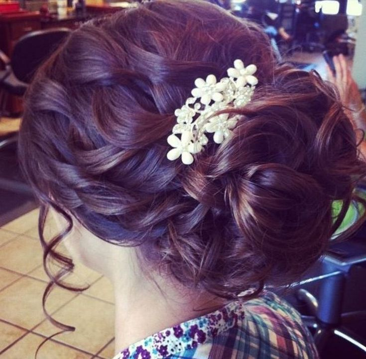 Prom Hair Ideas Braided Updo Pinterest