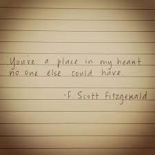 f.scott fitzgerald love quotes - Google Search