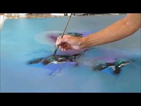 17 meilleures id es propos de peintures abstraites sur pinterest peinture abstraite art - Tuto peinture abstraite contemporaine ...