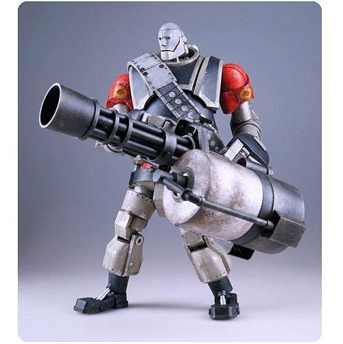 Team Fortress 2 RED Robot Heavy Action Figure - ThreeA - Team Fortress - Action Figures at Entertainment Earth TO BUY NOW CLICK ON LINK BELOW http://www.entertainmentearth.com/prodinfo.asp?number=THREDRH&id=TO-603025911