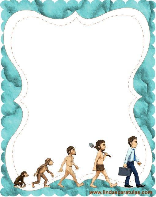 www.lindascaratulas.com: EVOLUCION DEL HOMBRE