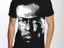 T.-shirt Miles Davis on tour 1991