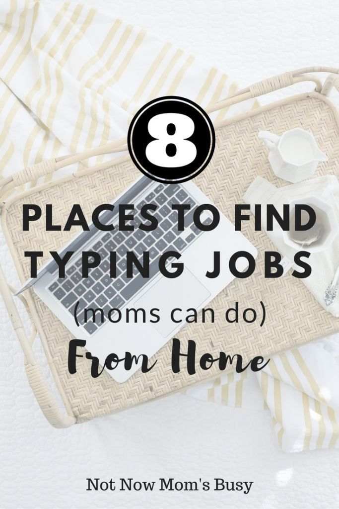 Put all of your #typing to good use with these #jobsfromhome