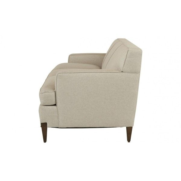 Jayson Home Ealing Sofa ($1,695) ❤ liked on Polyvore featuring home, furniture, sofas, chocolate brown couch, espresso color furniture, dark brown couch, dark brown furniture and woven furniture
