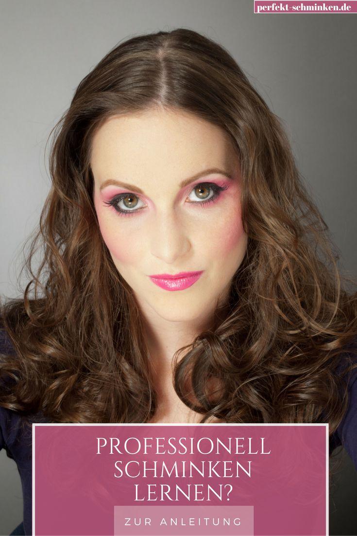 Professionell schminken lernen? Wir zeigen dir, wie es geht.