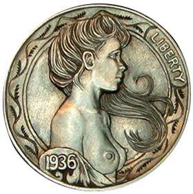 1936 Miss Liberty Nickel by Howard Thomas