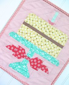 Bee In My Bonnet: Quilty Fun is Having a Birthday Party and You're Invited!!!…Free Birthday Cake Pattern from Me to You:) ...
