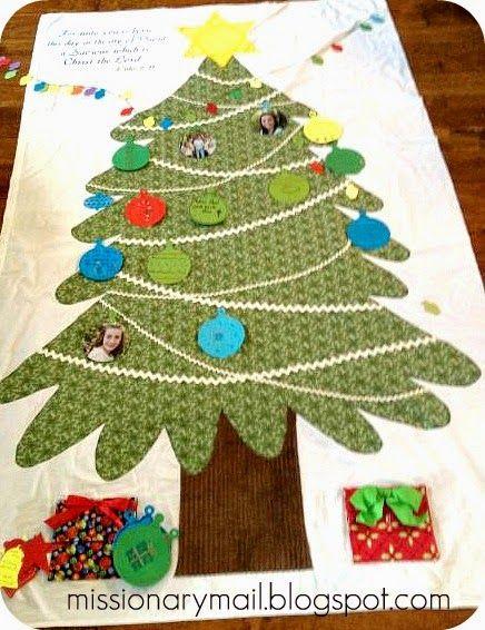 Missionary Mail: O Christmas Tree, O Christmas Tree