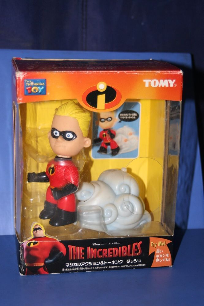 DISNEY The INCREDIBLES DASH Figure Doll TOMY JAPAN Action&Talking   | eBay