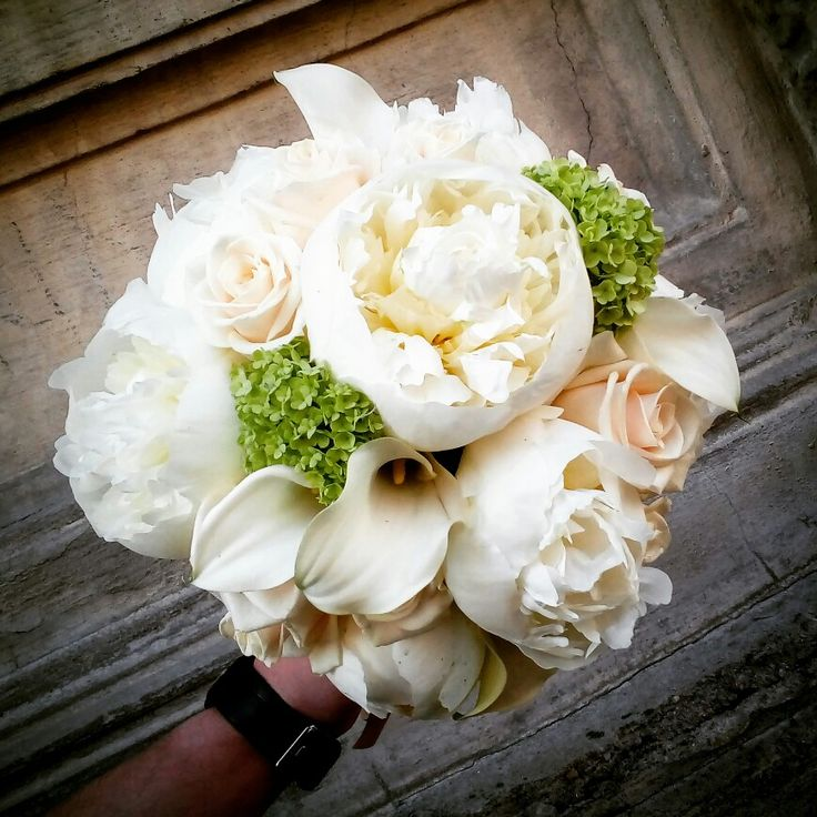 Peonies for the bride