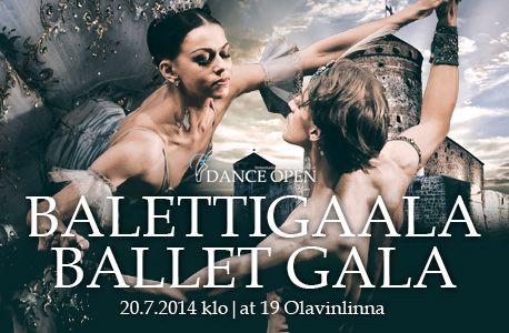 Dance Open Ballet Gala 20th July.