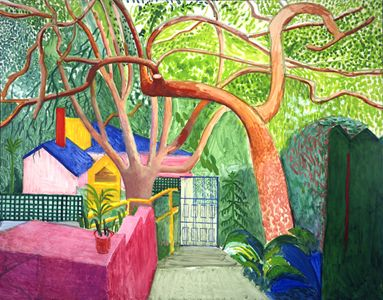 The Gate, 2000 oil on canvas, 60x76 in.