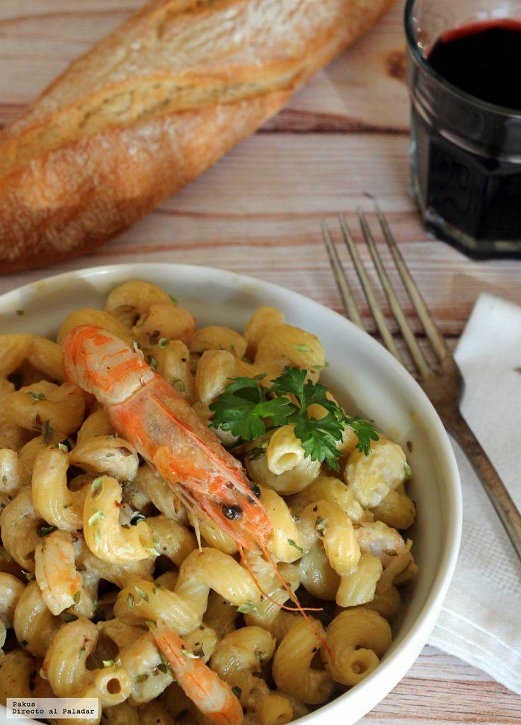 Te explicamos paso a paso, de manera sencilla, la elaboración de la receta de Amorelli con langostinos y su crema. Ingredientes, tiempo de elaboración