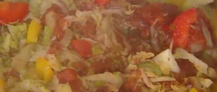 Zupa kapuściana odchudzajaca - Ewa Wachowicz