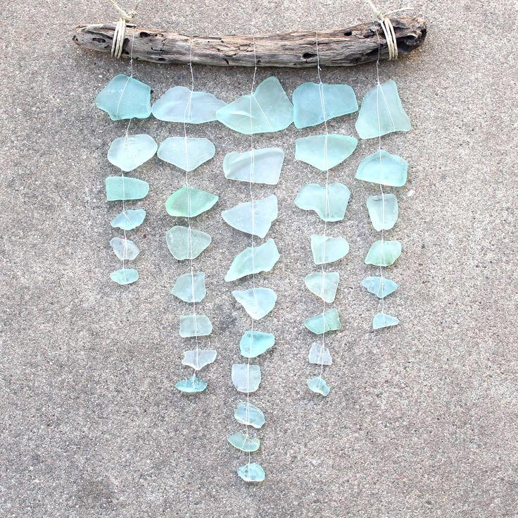 Sea Glass Mobile - Aquamarine Dream