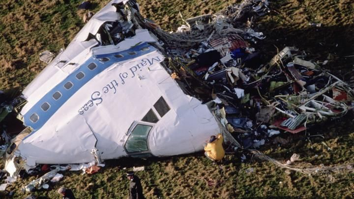 Pan Am Flight 103 explodes over Lockerbie, Scotland - Dec 21, 1988 - HISTORY.com
