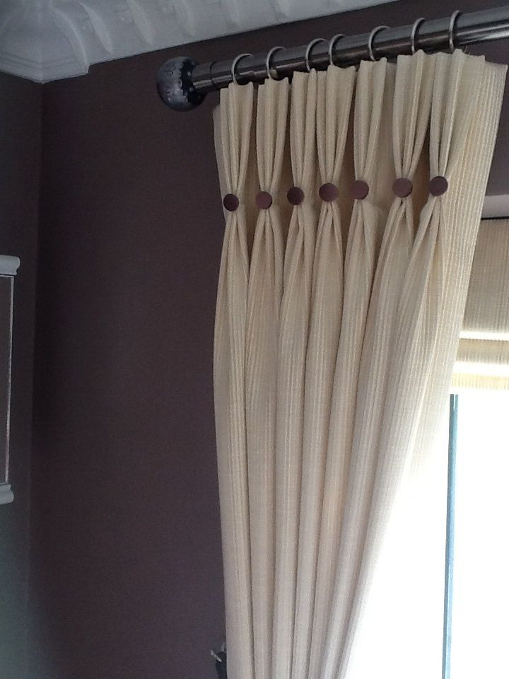 Triple Pinch Pleated Curtains With Ons In Prestigious Fabric From The Treats Collection