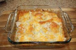 Chicken Enchilada Casserole #recipe