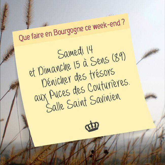 Que faire en Bourgogne ce week-end ?