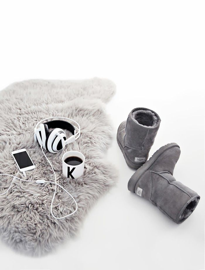 Only Deco Love: Few of my favorite things ugg boots+sheepskins