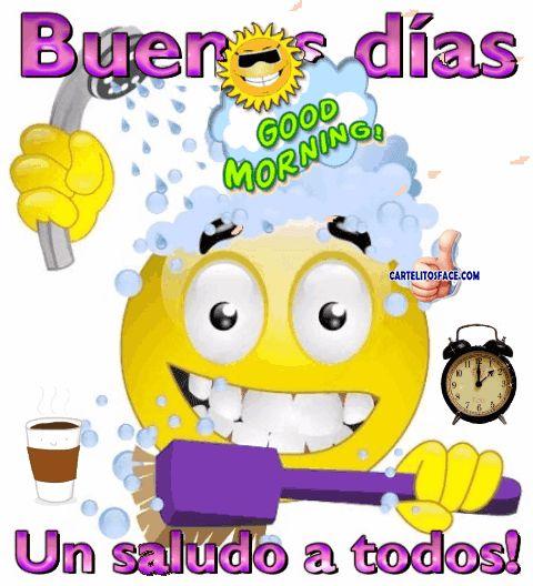 #Buenosdías, un saludo a todos.Carteles con frases de Buenos Días para compartir entre tus redes sociales y amigos.