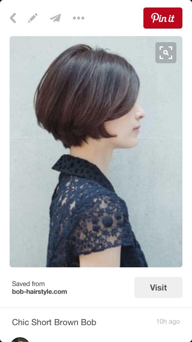 Die 25 Besten Ideen Zu Frisuren Kinnlang Auf Pinterest