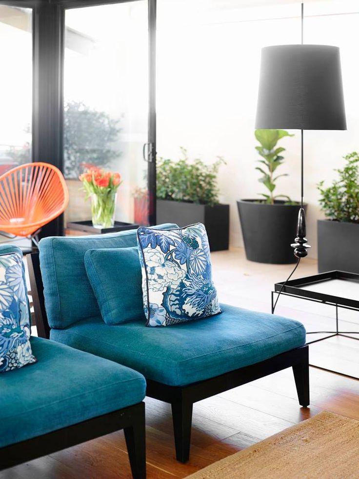 New Farm Apartment - The Design Files | Claire Stevens Interior Design