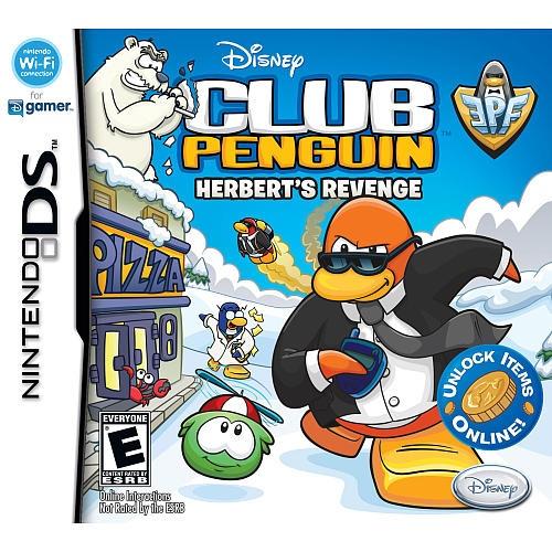 Club Penguin Herbert's Revenge for Nintendo DS Disney