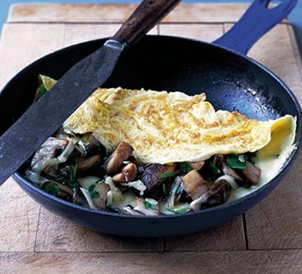 Cheesy Mushroom Omelette Recipe on Yummly. @yummly #recipe