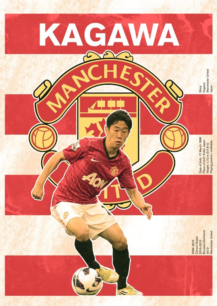 The Kagawa/Manchester United poster