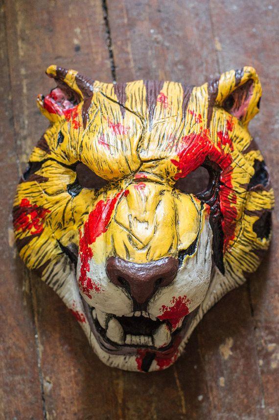 inspired Tony Hotline Miami Payday 2 the heist mask by Maskforsale