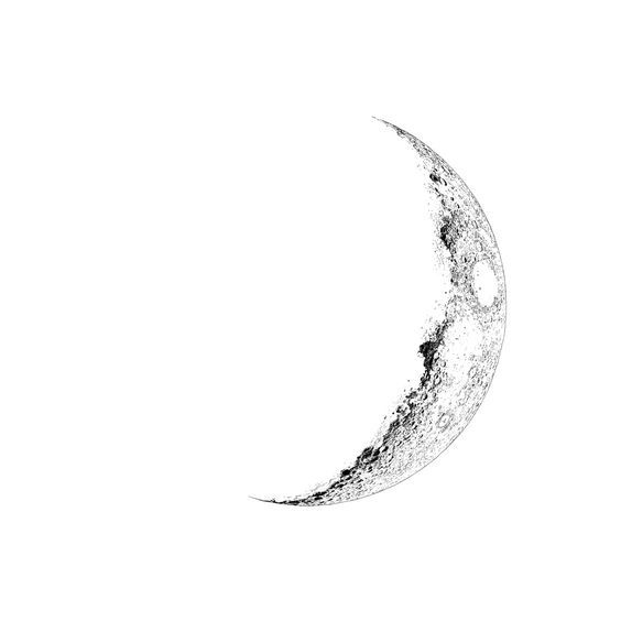 Half Moon Tattoos For Women and Men