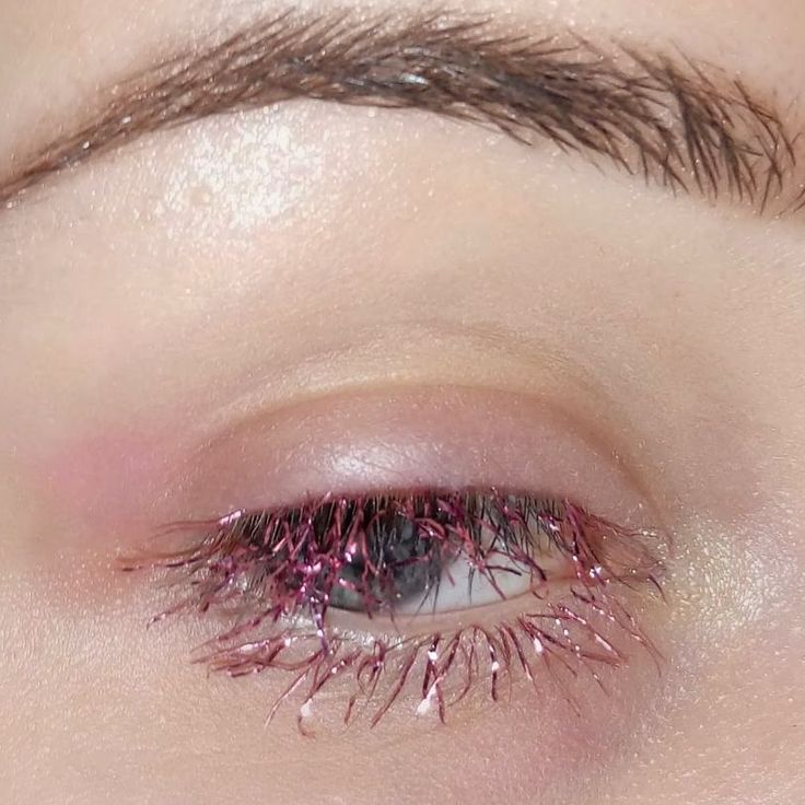 Glittery tinsel lashes are the trendy new way to make your face festive | Metro News