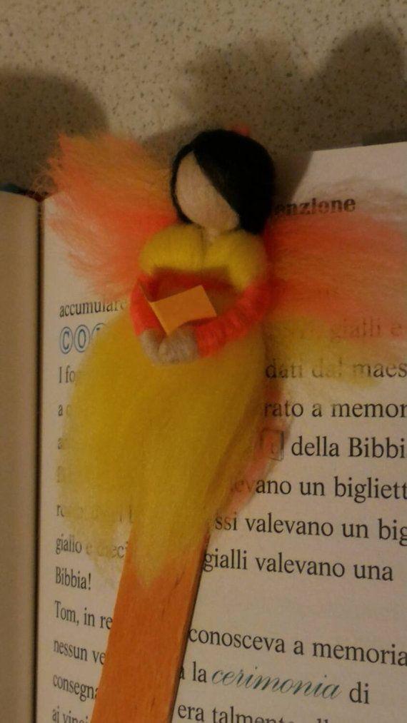 BOOKMARK fairy tale wool