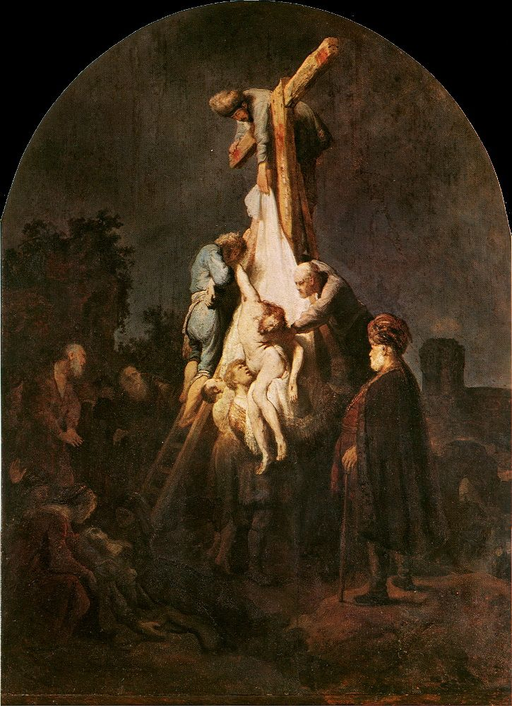 Rembrandt Harmensz. van Rijn 1606 – 1669  The Descent from the Cross