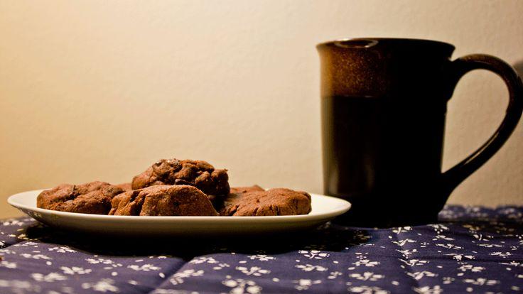 Chocolate Icebox Cookies - - Oven Mitt Adventures