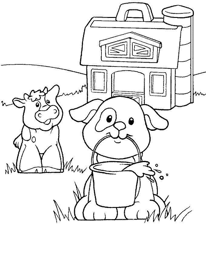 fisher price coloring pages # 36