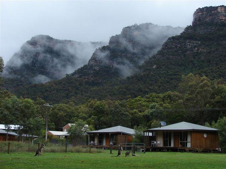 Grampians Chalets, your ideal holiday accommodation in Halls Gap Australia. #HallsGapAustralia www.OzeHols.com.au/119