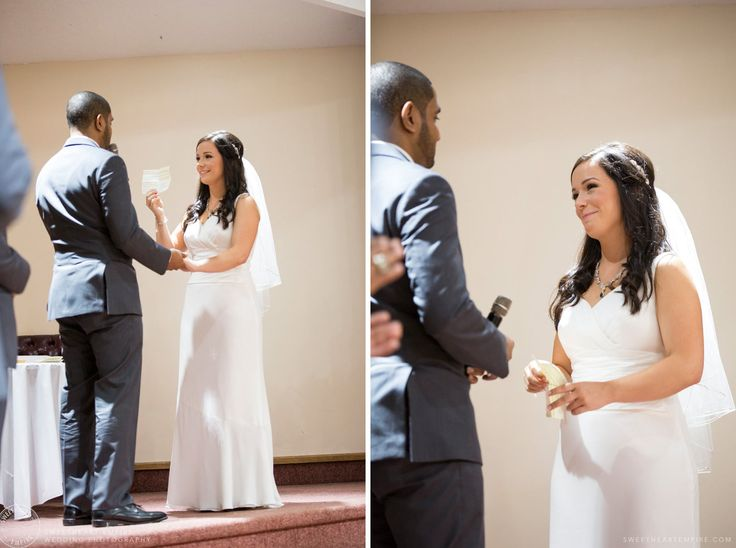 Scarborough Bluffs Wedding - Wedding vows #sweetheartempirephotography