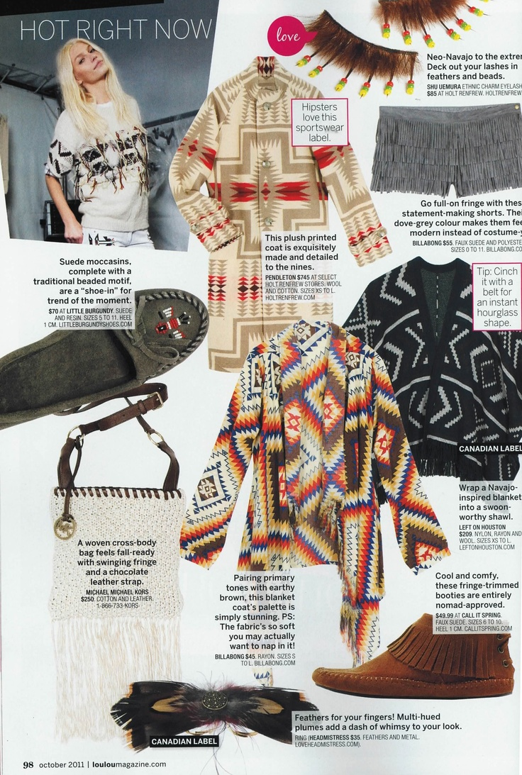 loulou magazine - october 2011 - feather double ring
