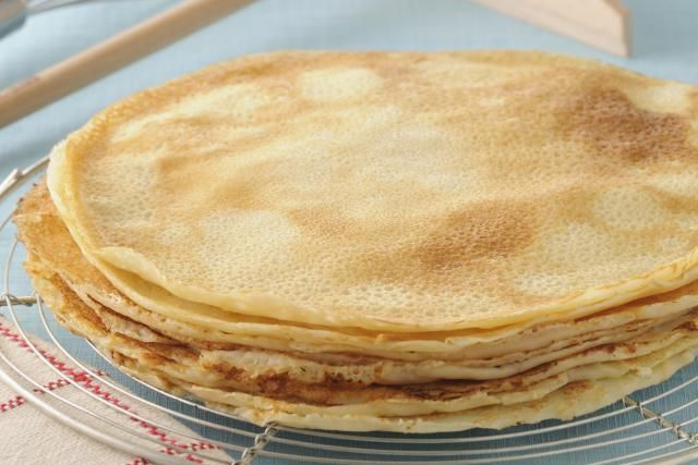 This crepe batter is a snap to prepare, and the crepes are so delicious with your favorite fillings. Included are variations for dessert crepes and more.