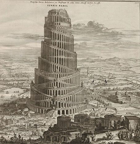 Athanasius Kircher's Tower of Babel