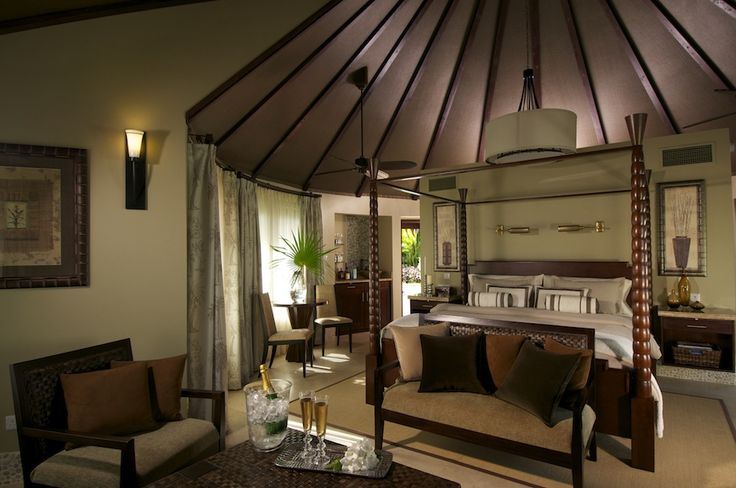 Luxurious bedrooms at Sandals Grande St. Lucian