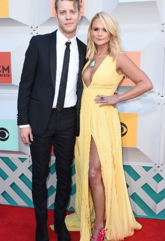 Miranda Lambert treads ACM red carpet with new lover Anderson East