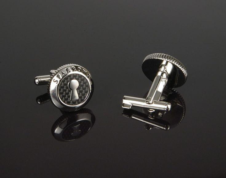 Sparrows Original Uncuff Cufflinks - cufflinks with built in handcuff key! www.cufflinked.com.au