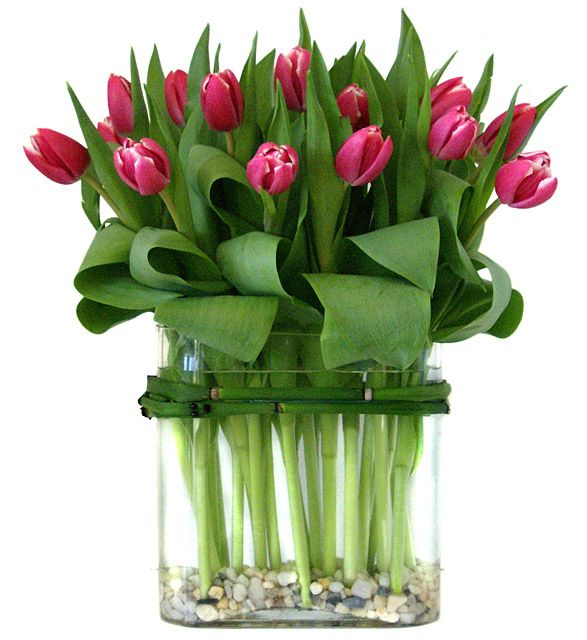 Tablescape ● Floral Centerpiece ● Tulips