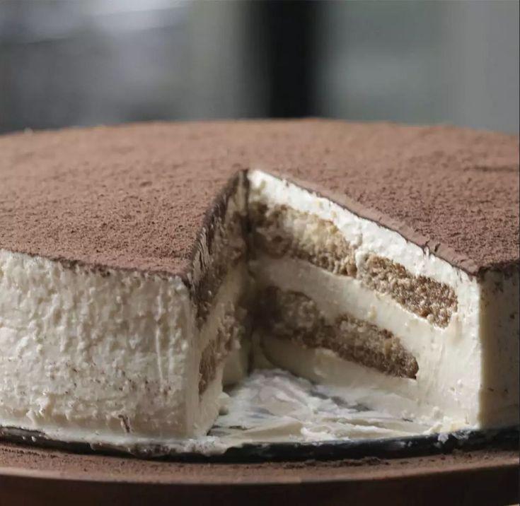 Μοναδικό τιραμισού cheesecake