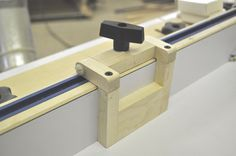 Shop Made Miter Table Stops - a cheap and fairly simple miter stop to save you money!