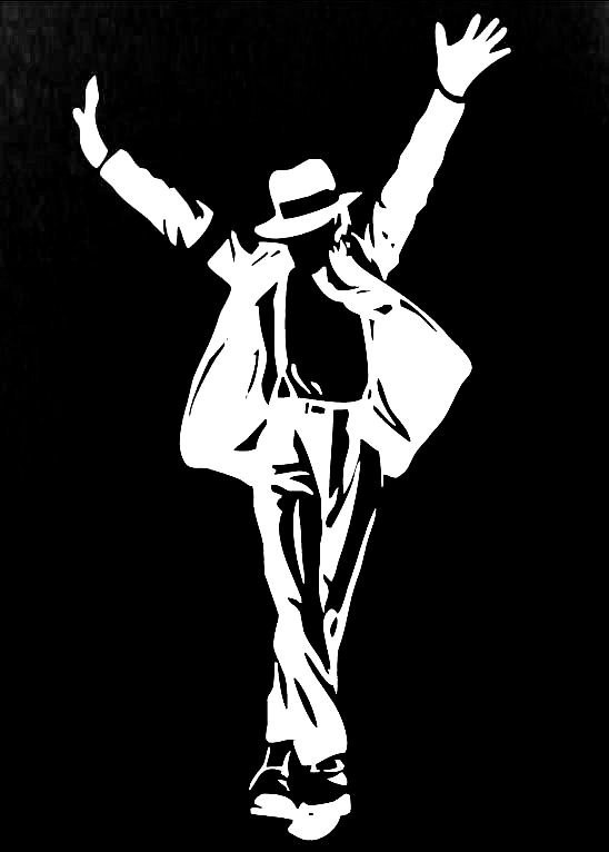 New Custom Screen Printed Tshirt Michael Jackson Silhouette Small - 4XL Free Shipping. $16.00, via Etsy.